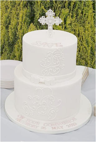 Piped Wedding Cake